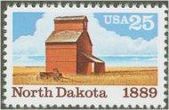 2403 25c North Dakota F-VF Mint NH 2403nh
