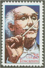 2411 25c Arturo Toscanini F-VF Mint NH 2411nh