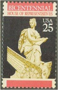 2412 25c U.S. House of Representatives F-VF Mint NH 2412nh