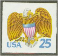 2431 25c Eagle & Shield [from booklet] F-VF Mint NH 2431nh