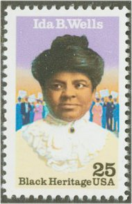 2442 25c Ida B. Wells F-VF Mint NH 2442nh