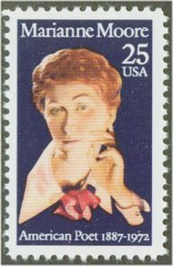 2449 25c Marianne Moore Used Single 2449used