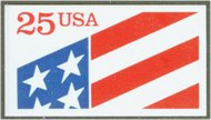 2475 25c Flag, Self Adhesive F-VF Mint NH 2475nh