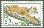 2482 $2,00 Bobcat F-VF NH 2482nh