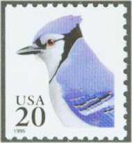 2483 20c Blue Jay [from booklet] F-VF Mint NH 2483nh