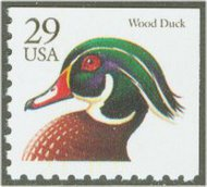 2484 29c Wood Duck BEP F-VF Mint NH 2484nh