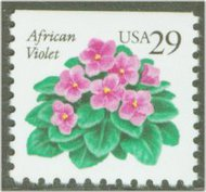2486 29c African Violet F-VF Mint NH 2486nh