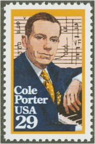 2550 29c Cole Porter F-VF Mint NH 2550nh