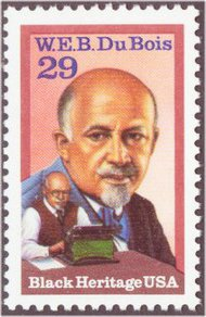 2617 29c W.E.B.DuBois Used Single 2617used
