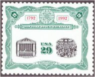 2630 29c N.Y. Stock Exchange Plate Block 2630pb