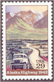 2635 29c Alaska Highway F-VF Mint NH 2635nh