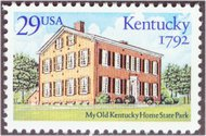 2636 29c Kentucky Statehood F-VF Mint NH 2636nh
