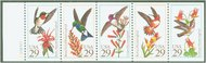 2642-6 29c Hummingbirds F-VF Mint NH 2642-6nh