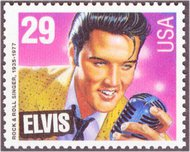 2721 29c Elvis Presley F-VF Mint NH 2721nh