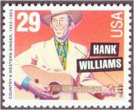 2723 29c Hank Williams F-VF Mint NH 2723nh
