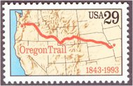 2747 29c Oregon Trail F-VF Mint NH 2747nh