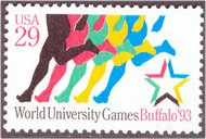 2748 29c World University Games F-VF Mint NH 2748nh
