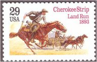 2754 2754 29c Cherokee Strip F-VF Mint NH Sheet of 20 2754sh