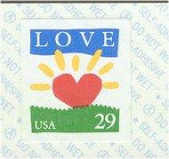 2813b 29c Love/Sunrise Coil F-VF Mint NH 2813Bnh
