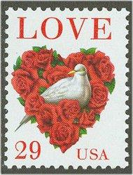 2814C 29c Love & Dove F-VF Mint NH 2814Cnh