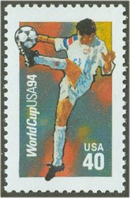 2835 40c World Cup Soccer Full Sheet 2835sh