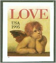 2949 (32c) Angel, Self Adhesive F-VF Mint NH 2949nh