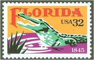 2950 32c Florida Statehood Full Sheet 2950sh