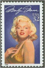 2967 32c Marilyn Monroe F-VF Mint NH 2967nh