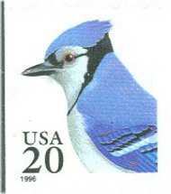 3048 20c Blue Jay F-VF Mint NH 3048nh