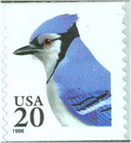 3053 20c Blue Jay Self Adh Coil F-VF Mint NH 3053nh