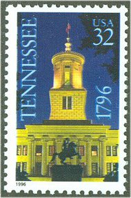 3070 32c Tennessee Statehood F-VF Mint NH 3070nh