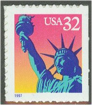 3122 32c Statue of Liberty F-VF Mint NH 3122nh