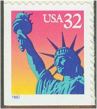 3122E 32c Statue of Liberty 11.5 x 11.8 F-VF Mint NH 3122Enh