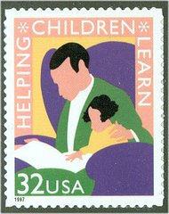 3125 32c Children Learn F-VF Mint NH 3125nh