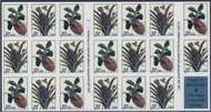 3127a 32c Botanical, Booklet Pane of 20 F-VF Mint NH 3127a