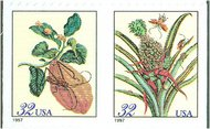 3126-7 32c Botanical F-VF Mint NH 3126-7nh