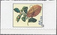 3128a 32c Citron, sideways single F-VF Mint NH 3128a