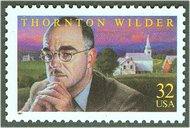 3134 32c Thornton Wilder F-VF Mint NH 3134nh
