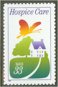 3276 33c Hospice Care F-VF Mint NH 3276nh