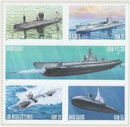 3373-7 Submarines Booklet Pane 3373a