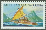 3389 33c American Samoa Used Single 3389used