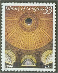 3390 33c Library of Congress F-VF Mint NH 3390_mnh