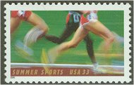 3397 33c Summer Sports Full Sheet  Mint NH 3397s_mnh