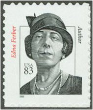 3433 83c Edna Ferber Full Sheet Mint NH 3433sh