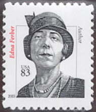 3434 83c Edna Ferber 2003 Used Single 3434used