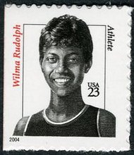 3436a 23c Wilma Rudolph Convertible Booklet 3436abkl