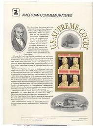 2415 25c U.S.Supreme Court USPS Cat 346 Commemorative Panel cp346