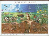 3506 34c Great Plains Sheet of 10 S 3506sh