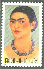 3509 34c Frida Kahlo Full Sheet 3509sh