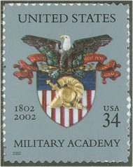 3560 34c Military Academy Full Sheet 3560sh